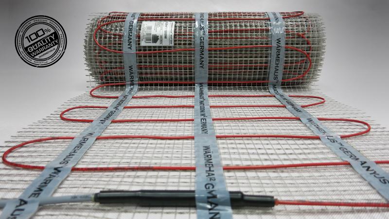 Теплый пол двужильный Warmehaus MAT 200W