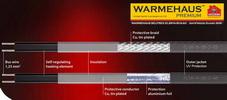 Обогрев трубопроводов Warmehaus AntiFreeze Guard 40W