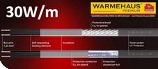 Обогрев трубопроводов Warmehaus AntiFreeze Guard 30W